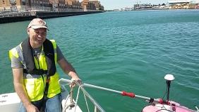 ADCP surveying in Shoreham